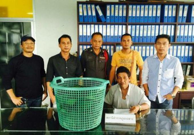 Un Ex bénévole de la police civile de Phuket arrêté avec 4 kg de feuilles de kratom