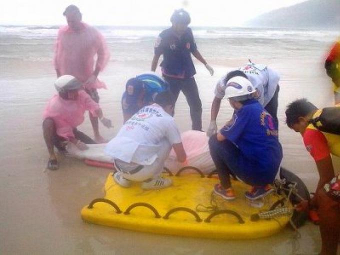 Un corps flottant retrioiuvé dans la baie de Patong