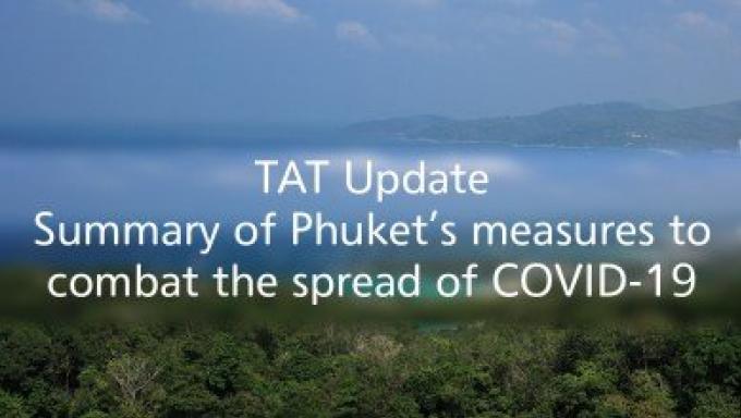 TAT publie toute la liste des restrictions COVID-19 en place à Phuket