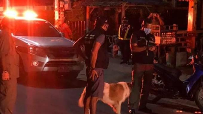 Couvre feu : La Police de Patong attrape les noctambules