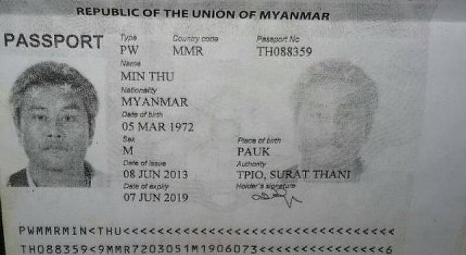 Un homme Birman poignardé à mort à Phuket