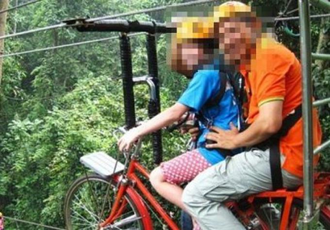 Une femme chinoise est morte durant une attraction aérienne à Chiang Mai