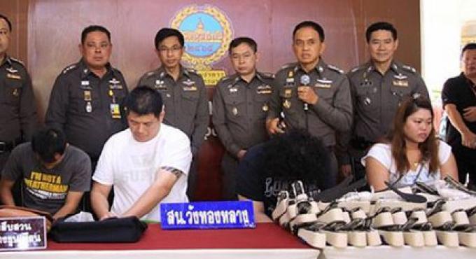 11 kg de méthamphétamine cachés dans des chaussures en provenance de Chine