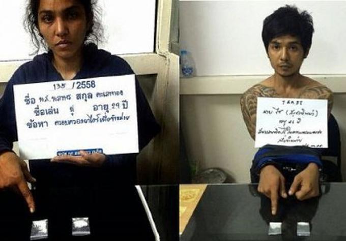 Deux personnes arrêtés dans un karaoké de Phuket dans des raids de drogue